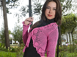 Susy Crocheted Bolero